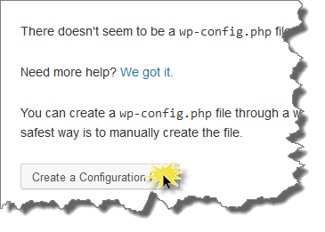 Membuat File wp-config.php