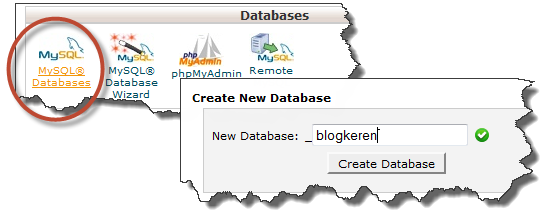 Membuat Database MySQL