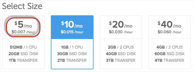 ukuran vps hosting