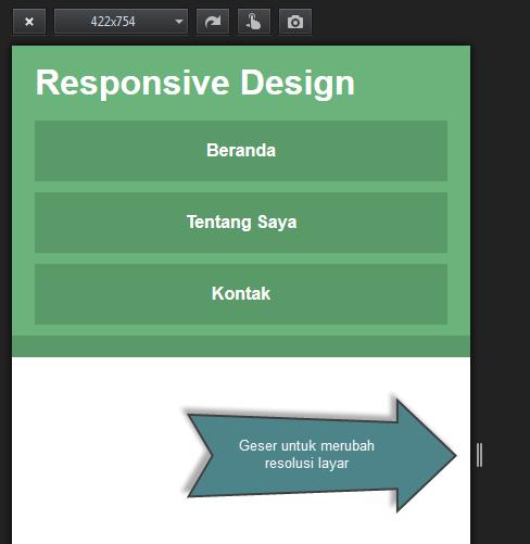 Cara Mengetes Fluid Grid pada Responsive Web