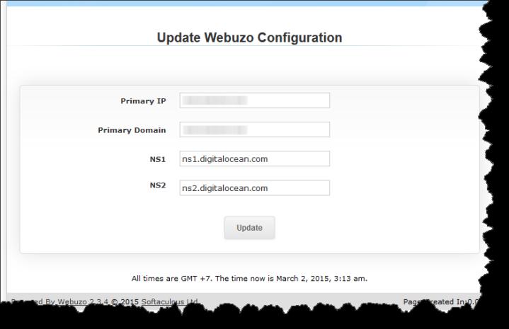 webuzo-domain-setting