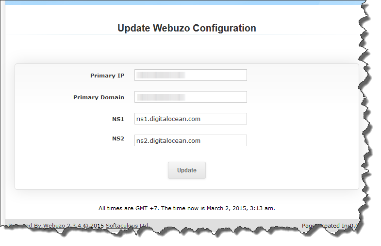 webuzo-domain-setting