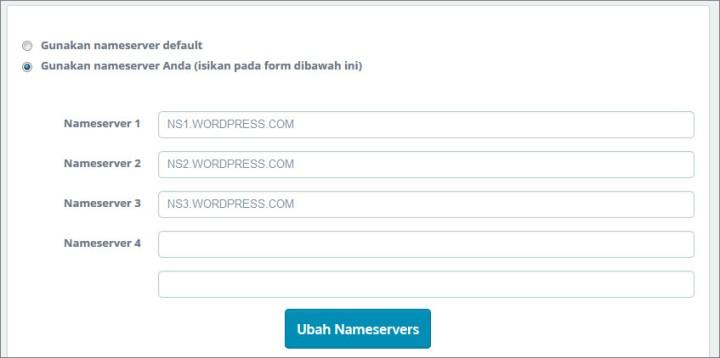 nameserver-idwebhost