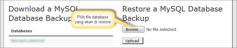 restore-database