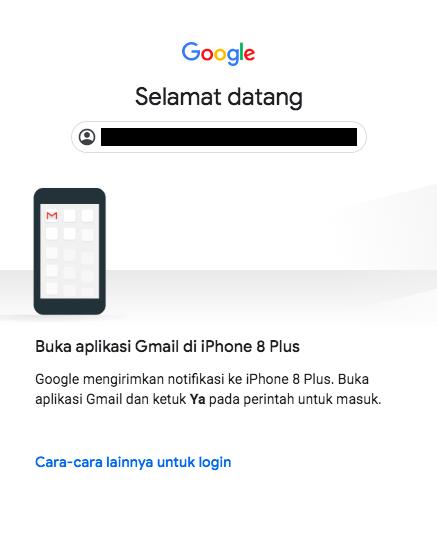 verifikasi google